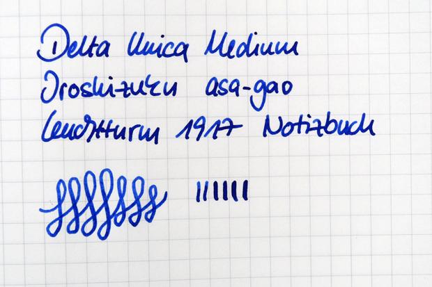 Schriftprobe Delta Unica