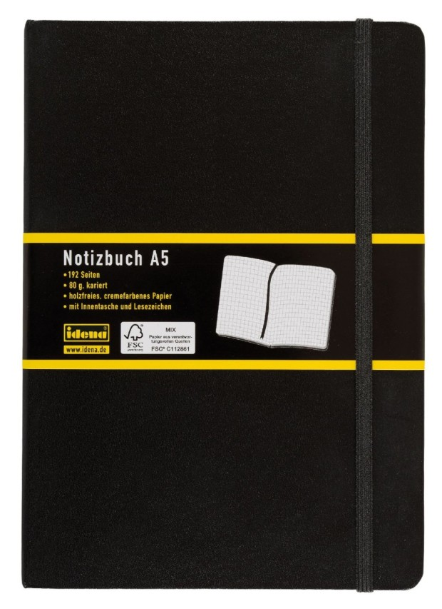 Idena Notizbuch A5