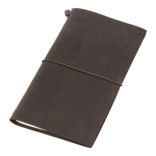 Midori Travelers Notebook braun